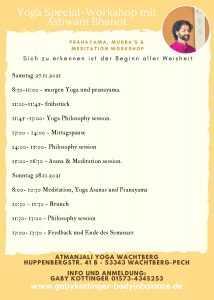 Yoga Special Workshop
